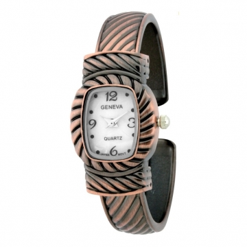 Women's Southwestern Style Watch w/ Diagonal Design