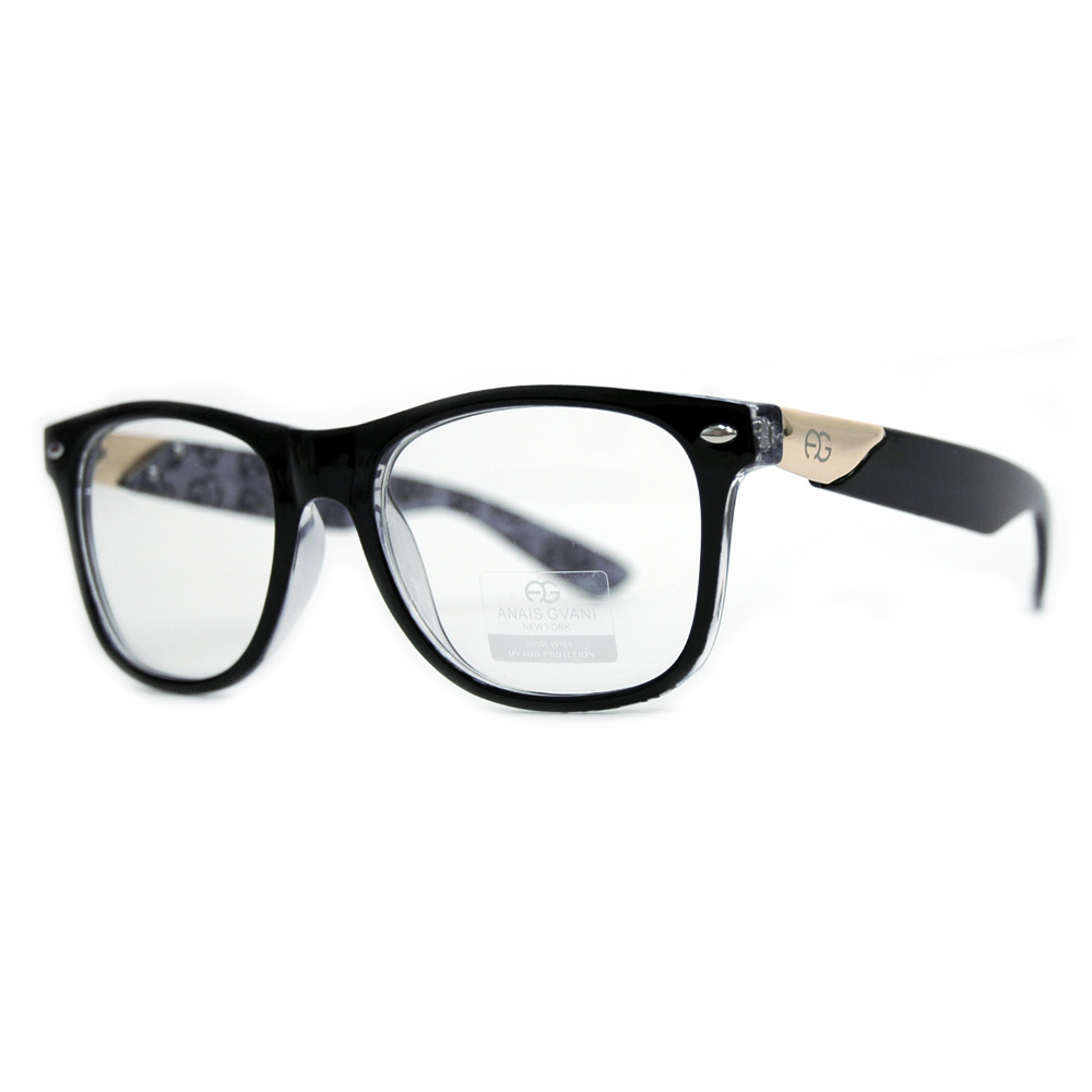 Round Square Plastic Optical Frames w/ UV Protection