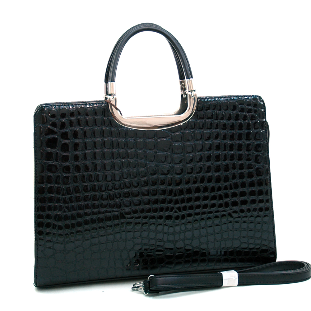 Dasein Kroco® Heavy Croco Briefcase