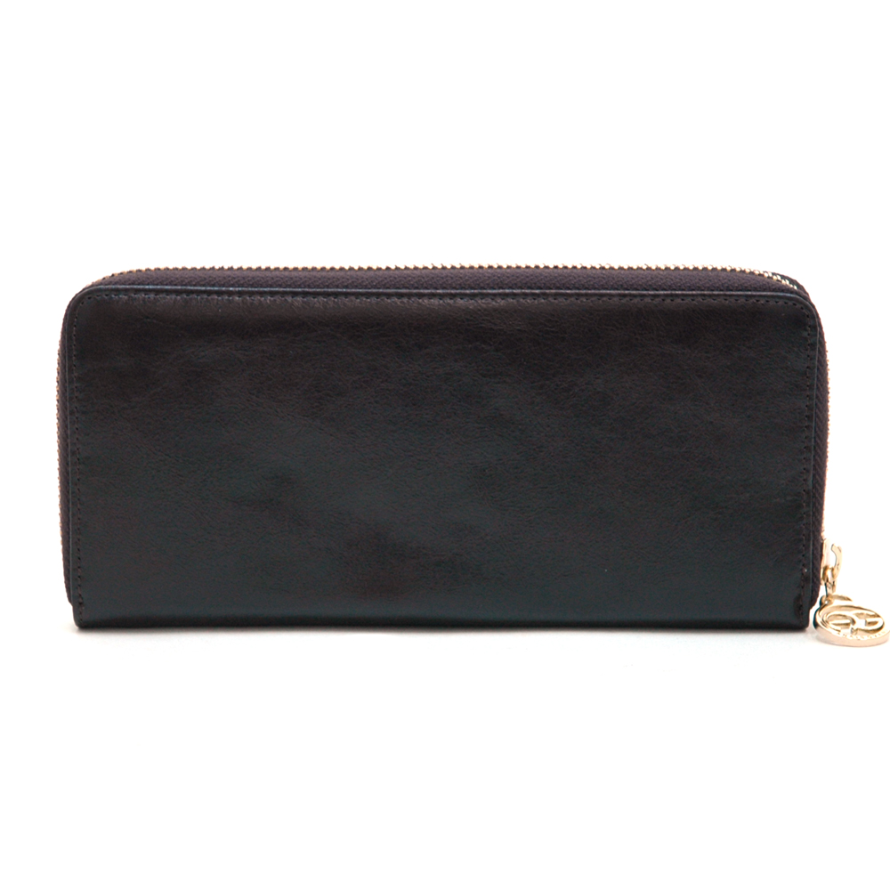 Anais Gvani® Bronx Park Long Genuine Leather Zip Around Wallet