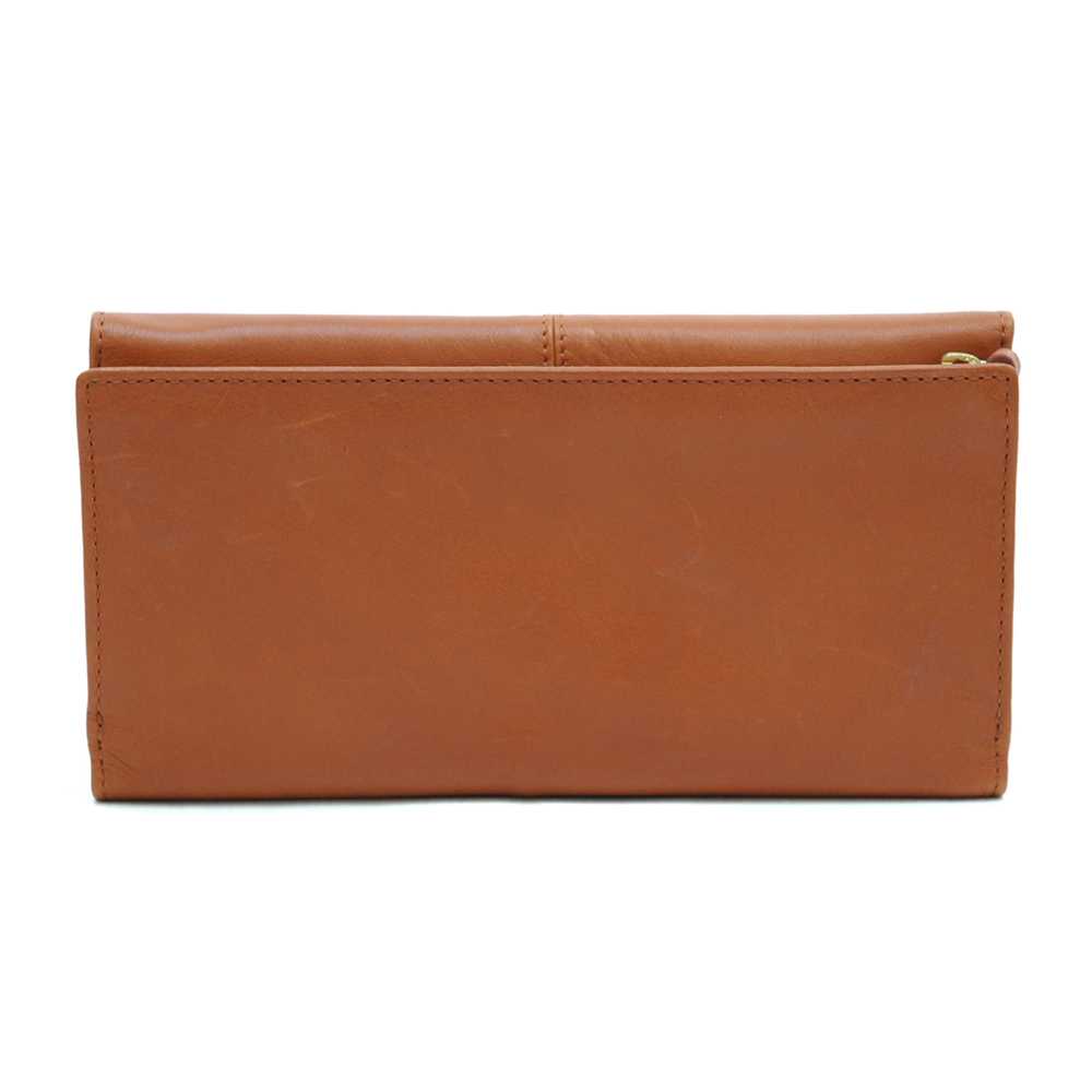 Anais Gvani® Cadman Plaza Pleated Genuine Leather Wallet
