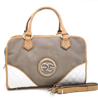 Anais Gvani® Stuyvesant Square Quilted Patch Satchel