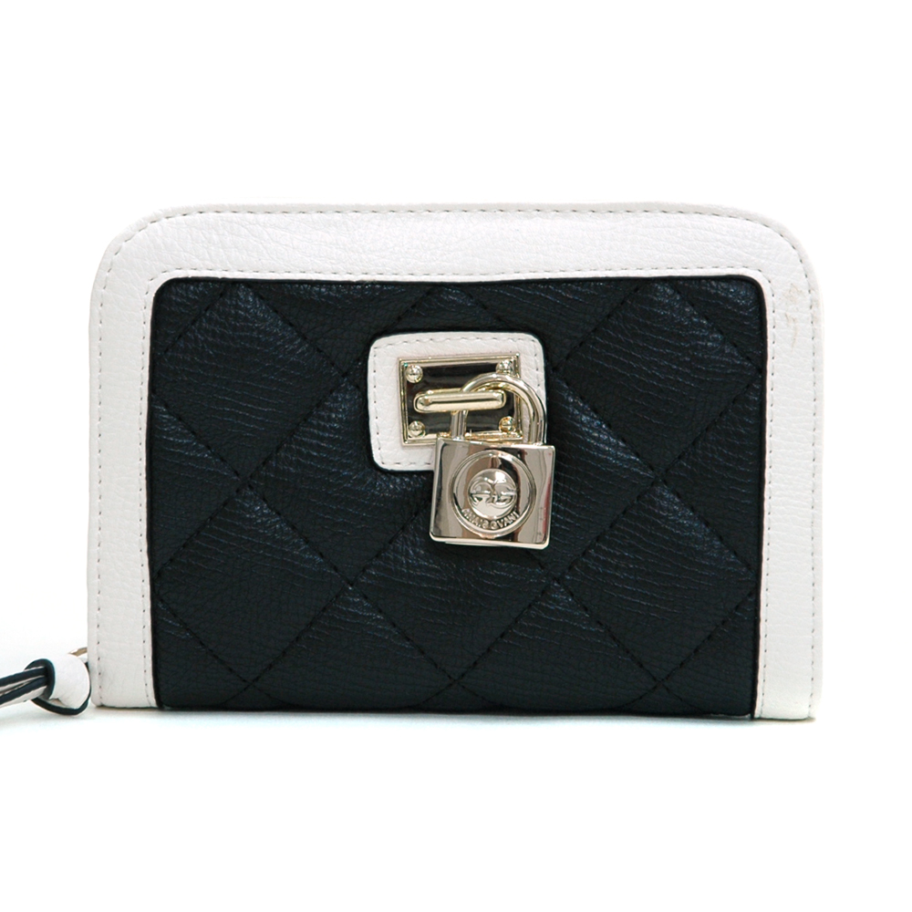 Anais Gvani® Van Cortlandt Park Petite Lock Accent Zip Around Wallet