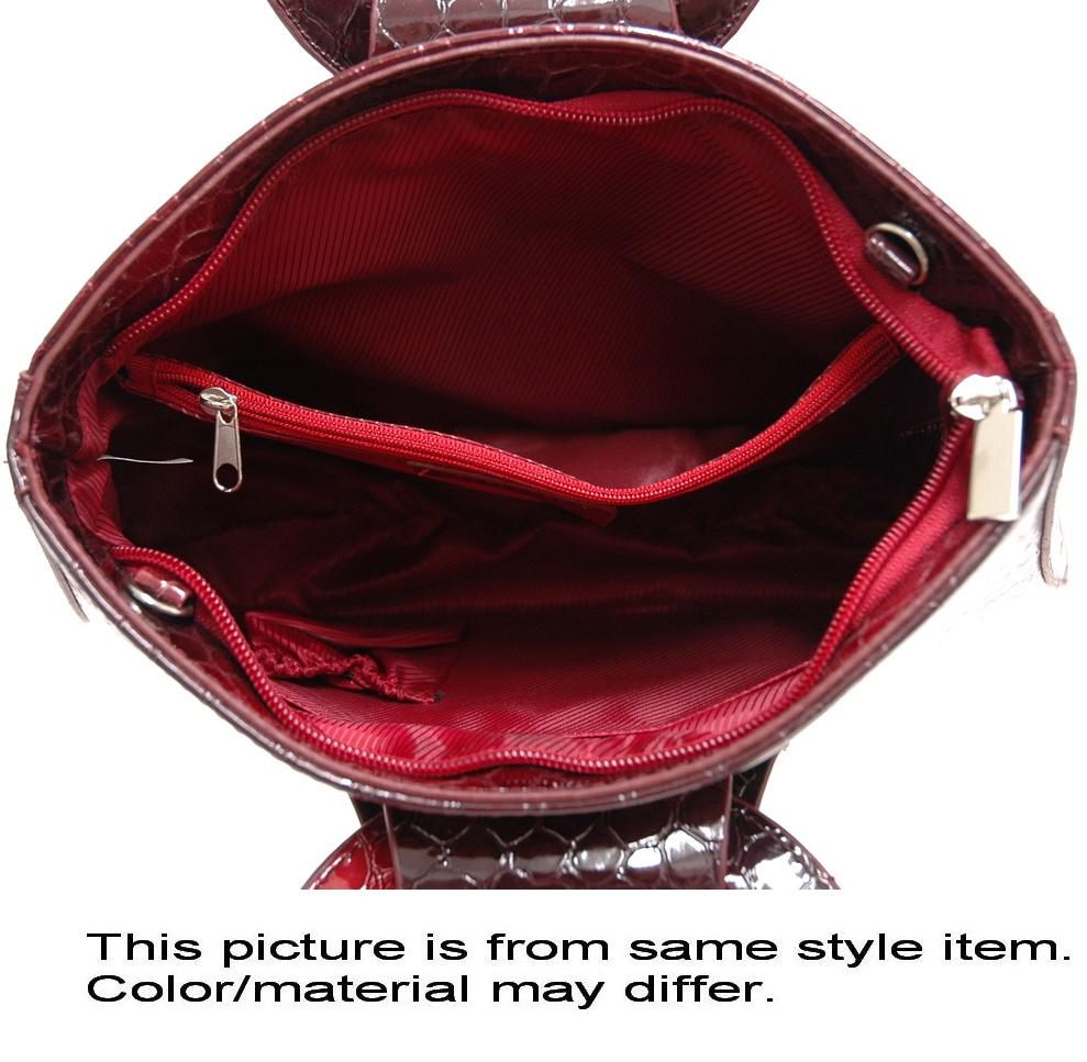 Dasein Esserpenti® Hoop Handle Satchel