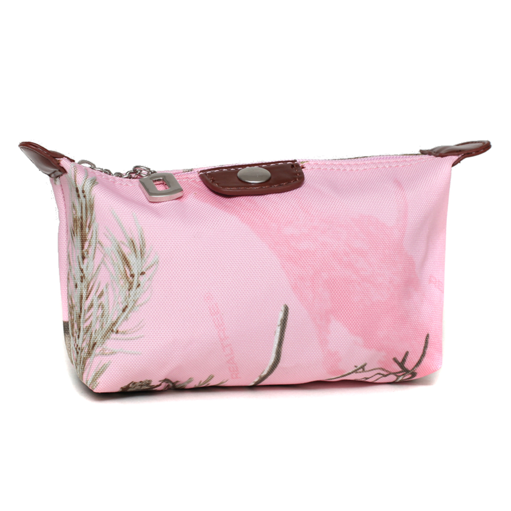 Realtree® APP Pink Camo Cosmetic Bag