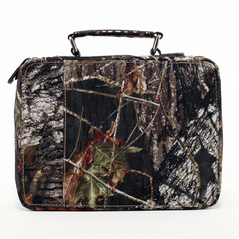 Mossy Oak® Arctic Camo Fleur-de-Lis Travel Bag