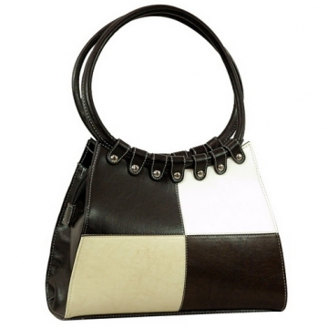 Vani Designer Inspired Fine Textured Shoulder Bag-Black/White/Beige/Coffee