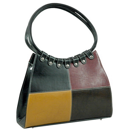 Vani Designer Inspired Fine Textured Shoulder Bag-Black/Red/Tan/Coffee