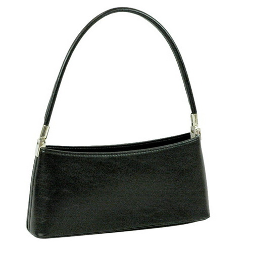 Vani Petite Classic Fine Textured Classic Shoulder Bag