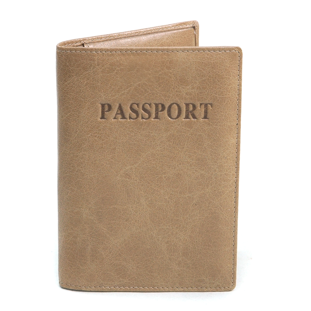Anais Gvani® Duane Park Genuine Leather Passport Cover