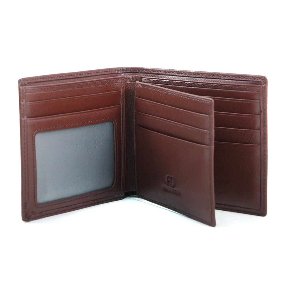 Anais Gvani® Men's Classic Genuine Fine Grain Leather Wallet