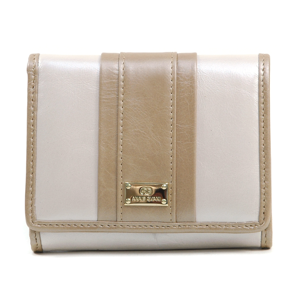 Anais Gvani® Columbus Park Petite Genuine Leather Wallet