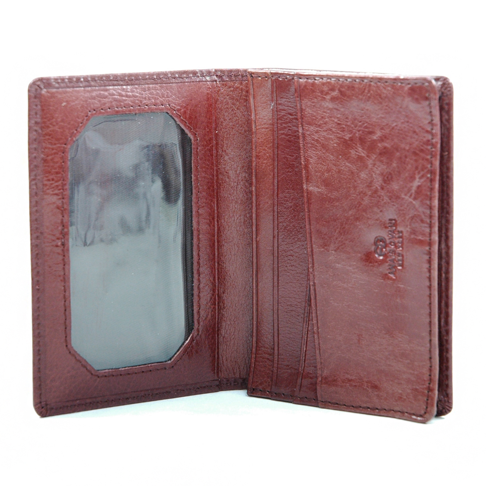 Anais Gvani® Kissena Park Wide Genuine Leather Men's Wallet