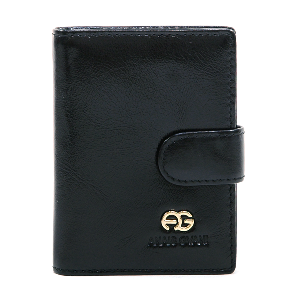 Unisex Business Card Holder/Mini Booklet / Genuine Leather Cover