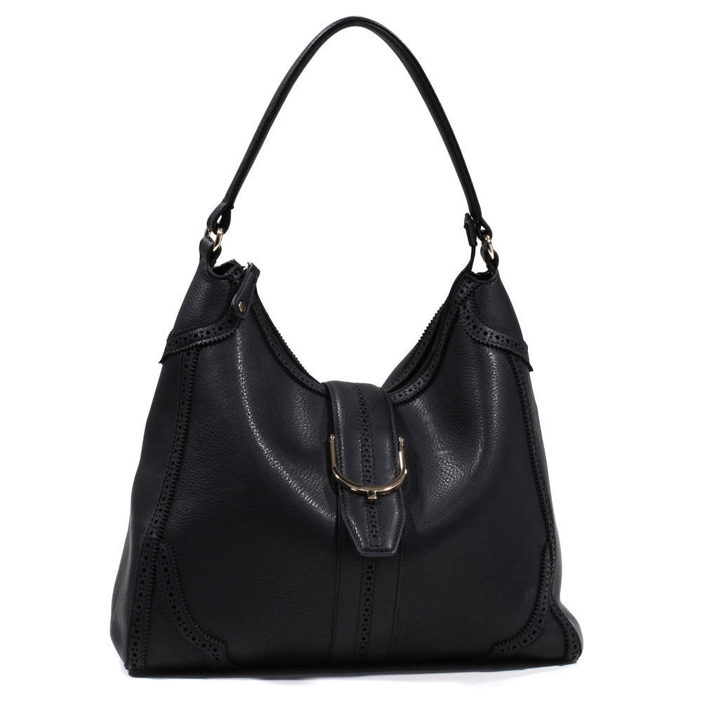 Emperia® Belt Flap Hobo with Small Cut-Outs