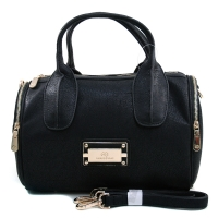 Anais Gvani® Worldwide Plaza Gold Logo Satchel