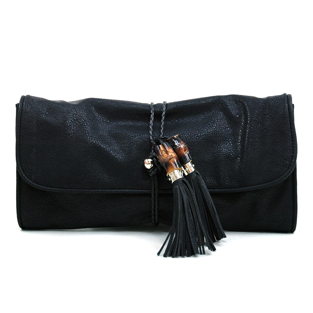 Anais Gvani® Worldwide Plaza Tassel Clutch