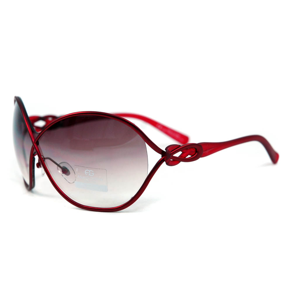 Women's Chic Open Temple Fashion Sunglasses