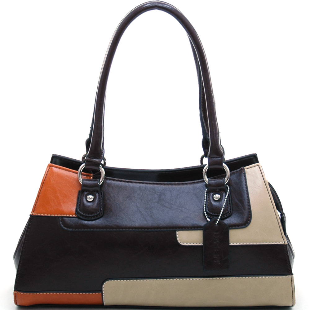 Dasein Phenomenology® Tri-Color Shoulder Bag