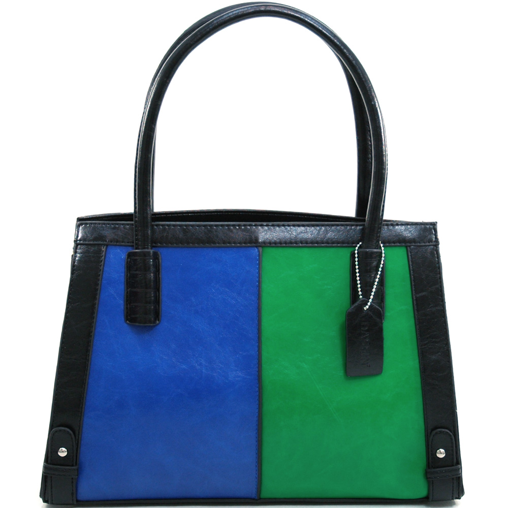 Dasein Phenomenology® Stitch Handle Large Shoulder Bag