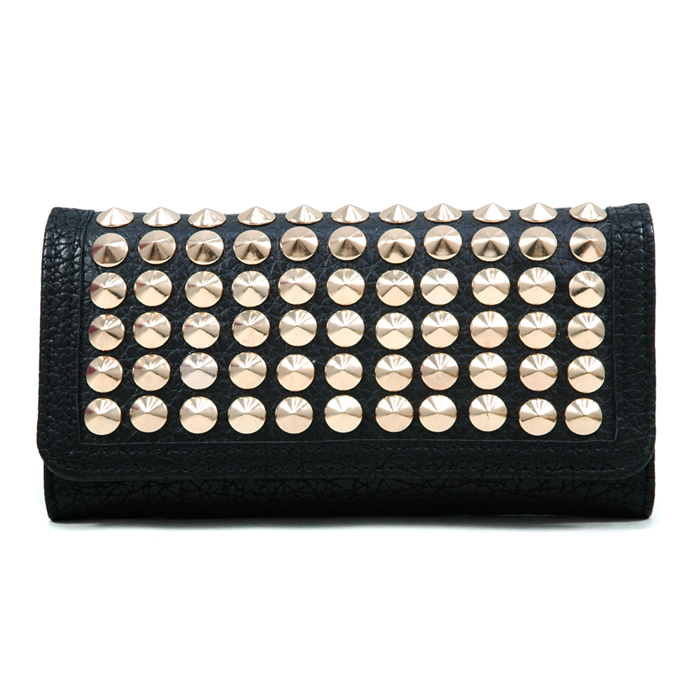 U Style® Pointy Cone Studded Wallet