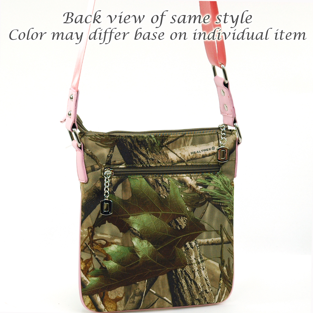 Realtree® Max-4 Camo Twist Lock Front Pocket Crossbody