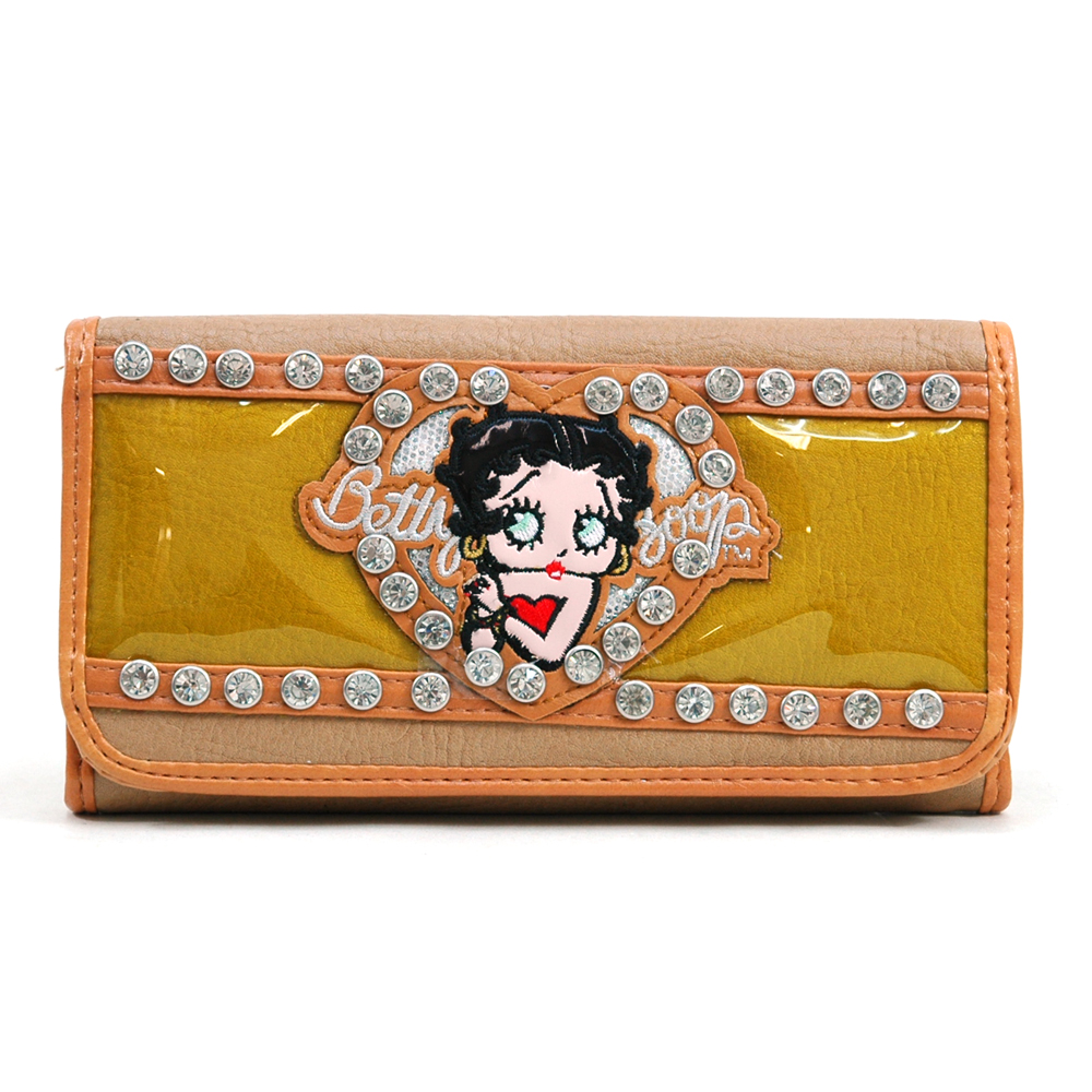 Betty Boop® Glossy Junior Checkbook Wallet