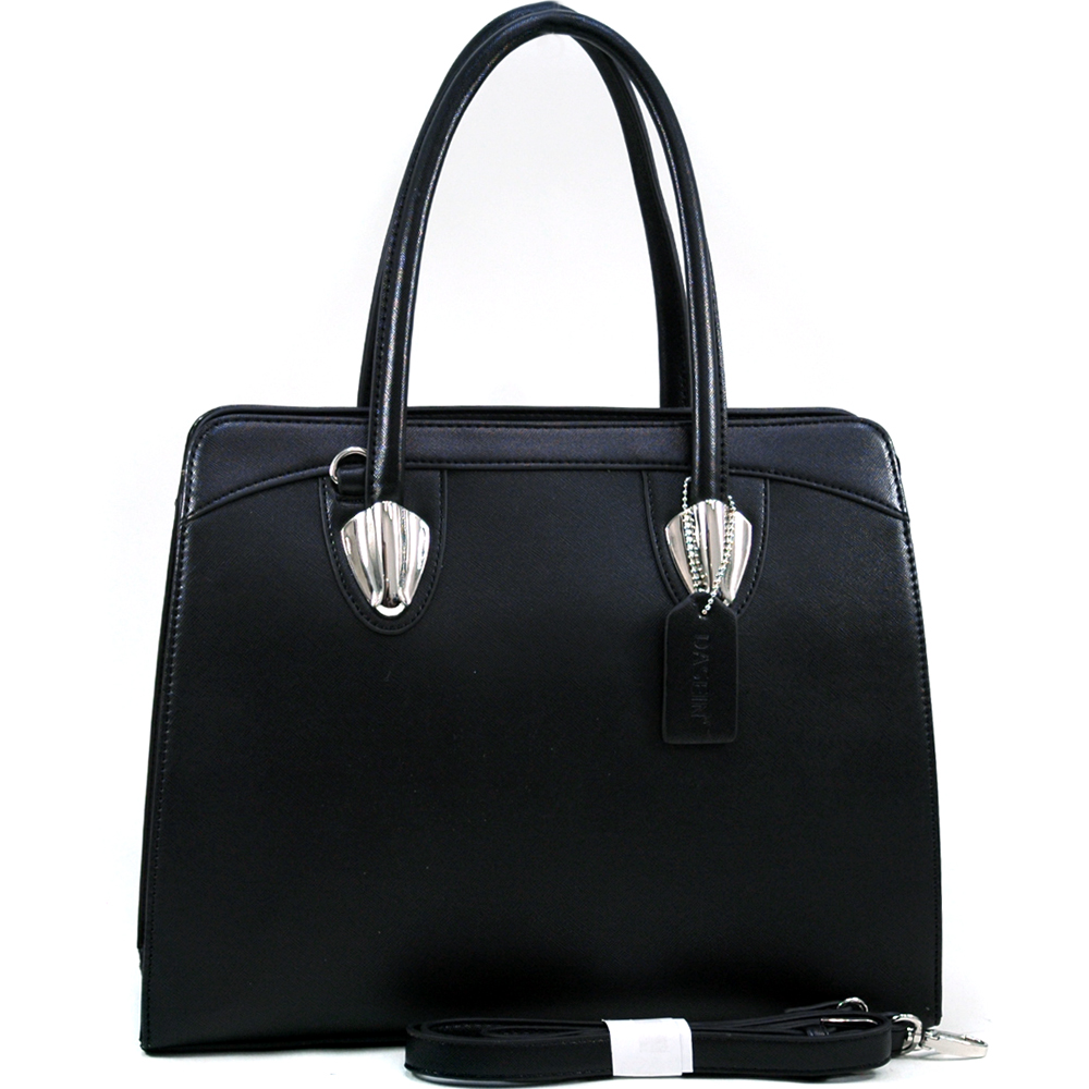 Dasein Kosmos® Silvertone Shoulder Bag
