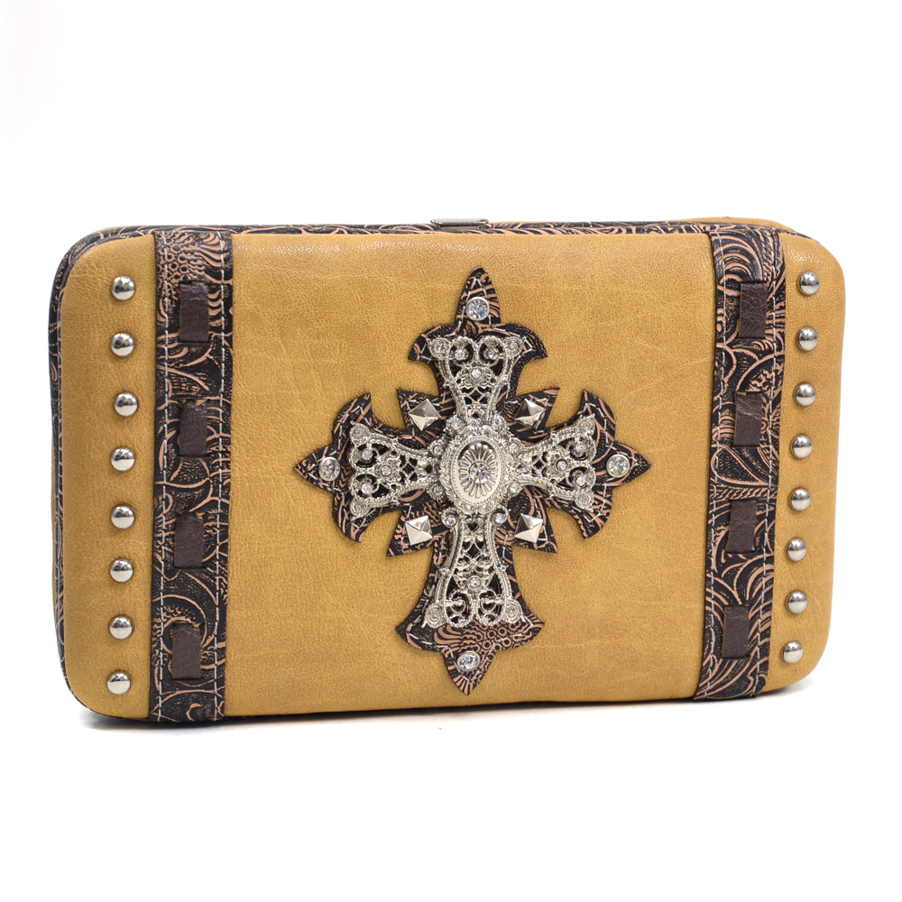Western Peter Cartwright Frame Wallet