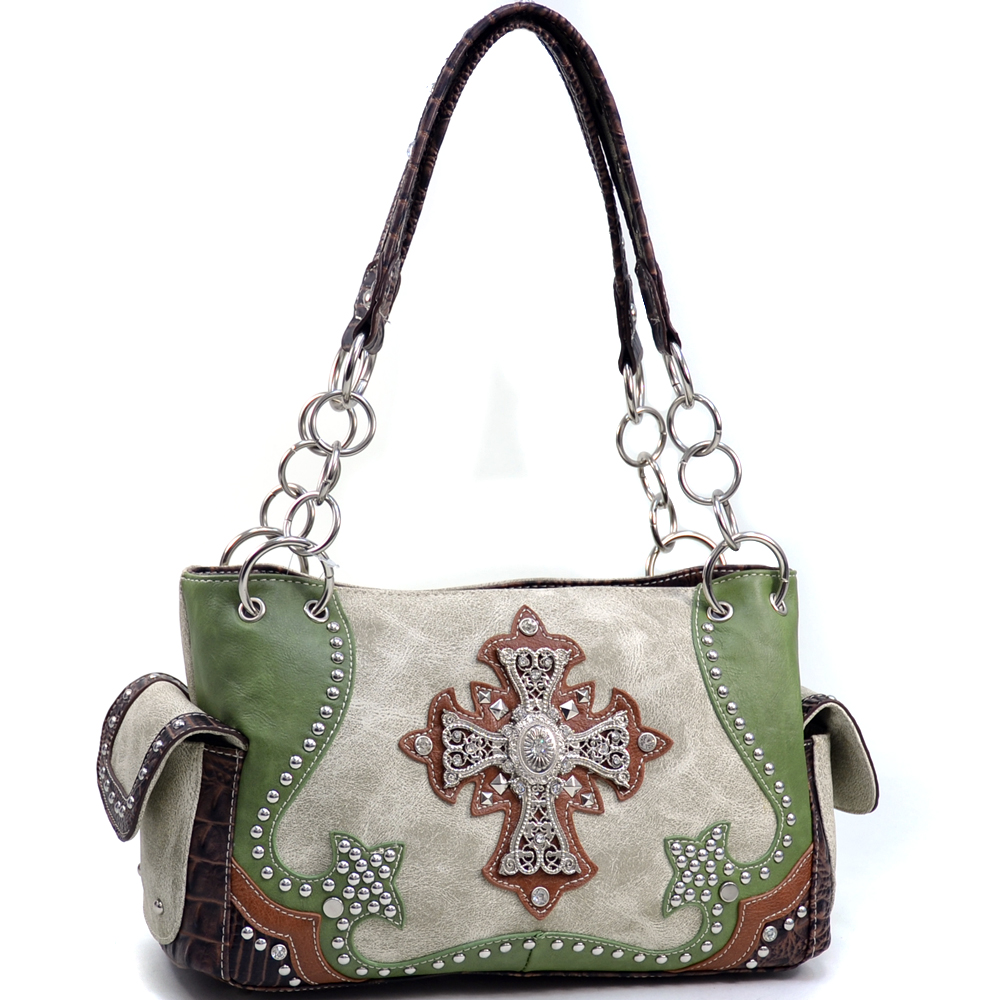 Western Frances Gaines Cross Shoulder Bag