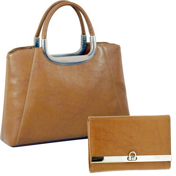 Vani Designer Inspired Fine Textured Leather Look Like Satchel