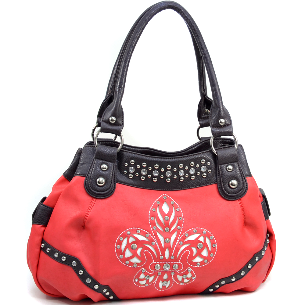 Women's Rhinestone Western Shoulder Bag