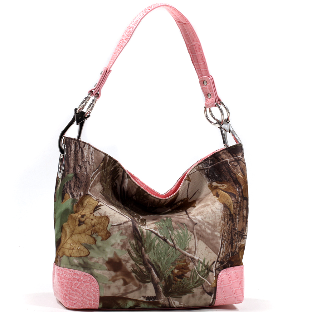 Realtree® APG Camo Croco Trim Hobo