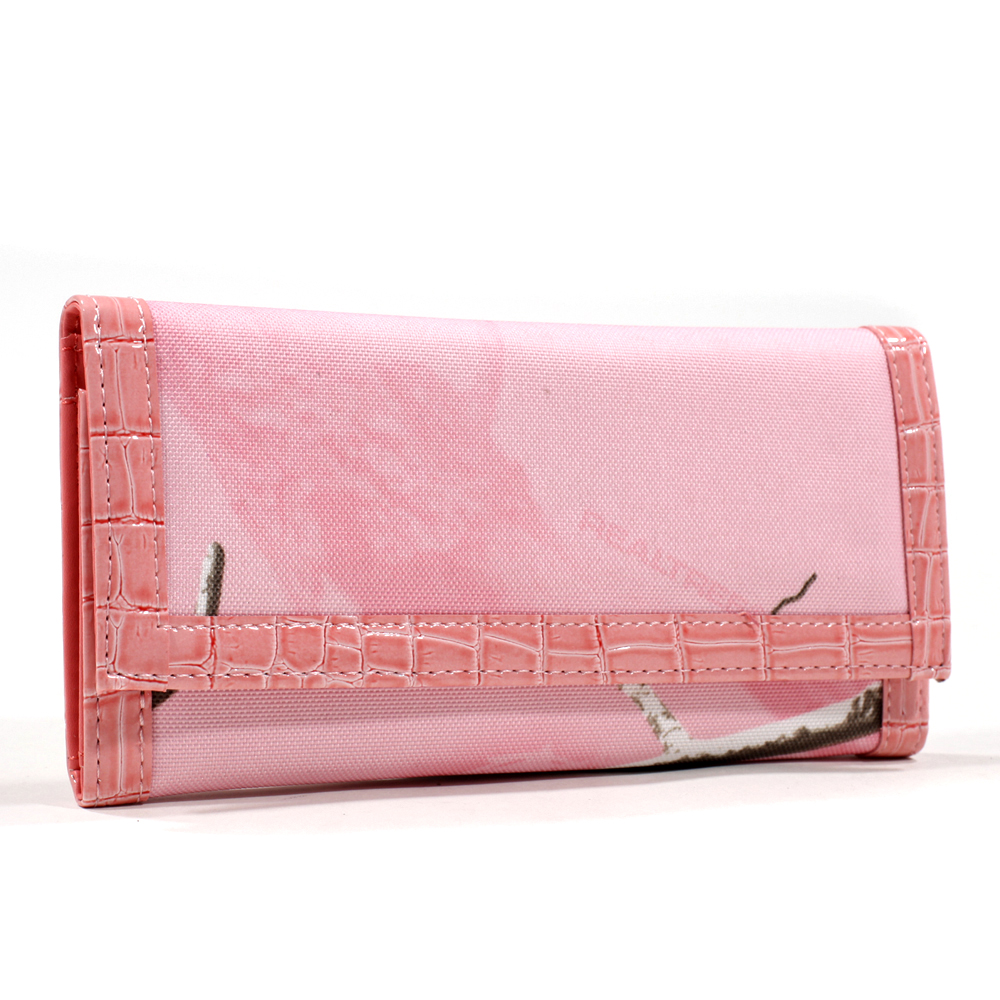 Realtree® AP Pink Camo Folded Wallet