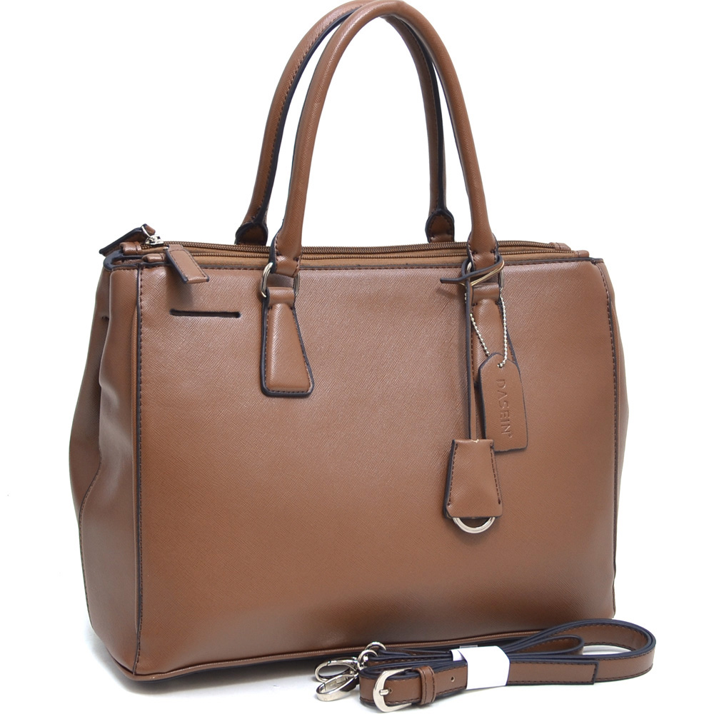 Dasein Kosmos® Tall Tasseled Satchel