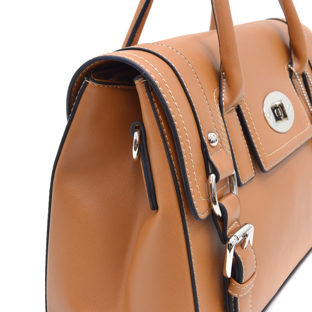 Dasein Kosmos® Turn Lock Satchel