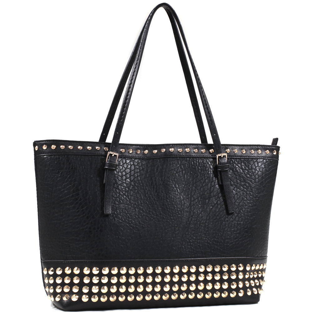Emperia® Bottom Cone Studded Tote