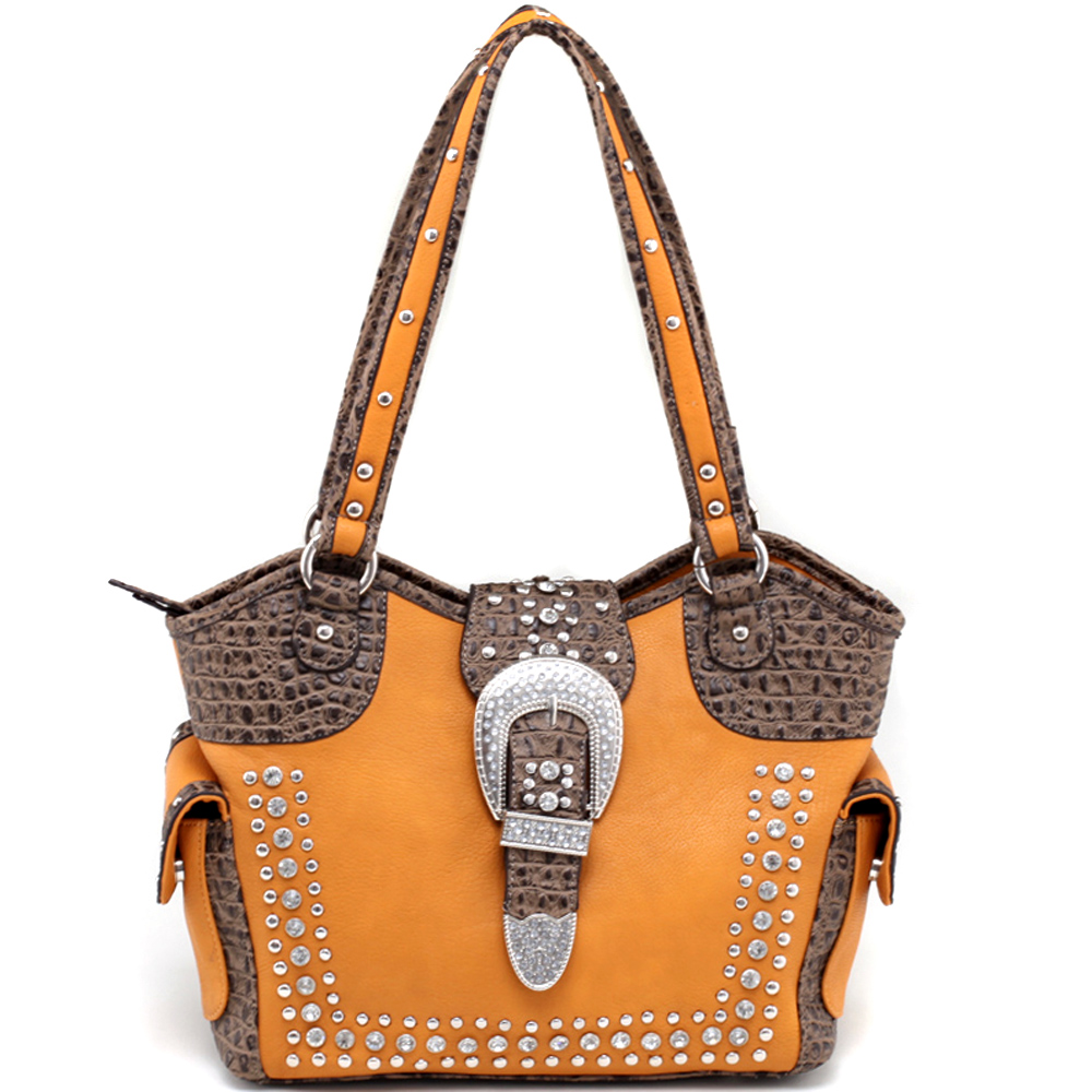 Buckeroo's Buckle Wave Top Shoulder Bag