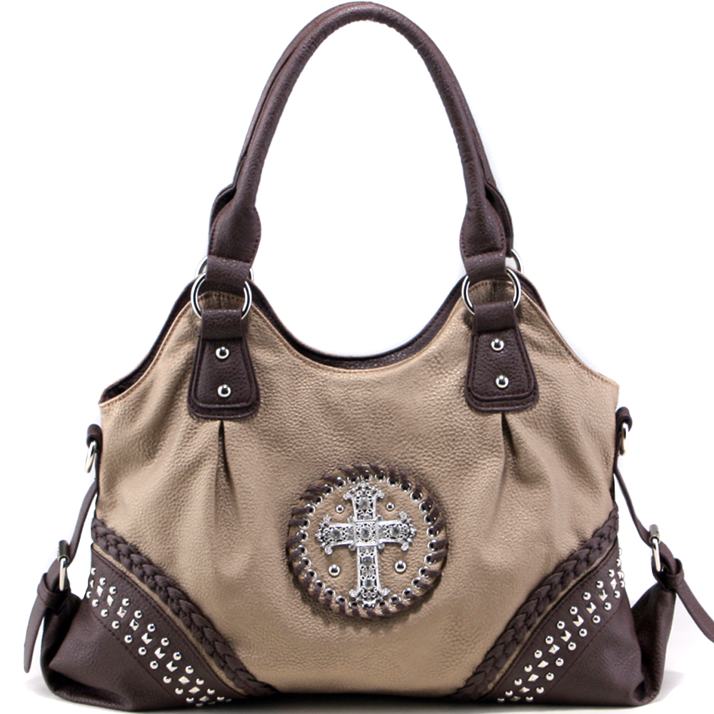 Old West Sin Buster's Cross Shoulder Bag