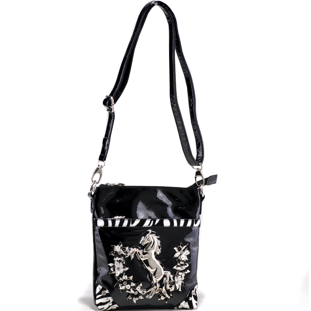 Alyssa® Ace-High Mustang Stallion Messenger Bag