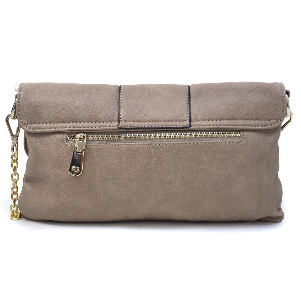 Anais Gvani® East River Park Needle Lock Pleated Clutch