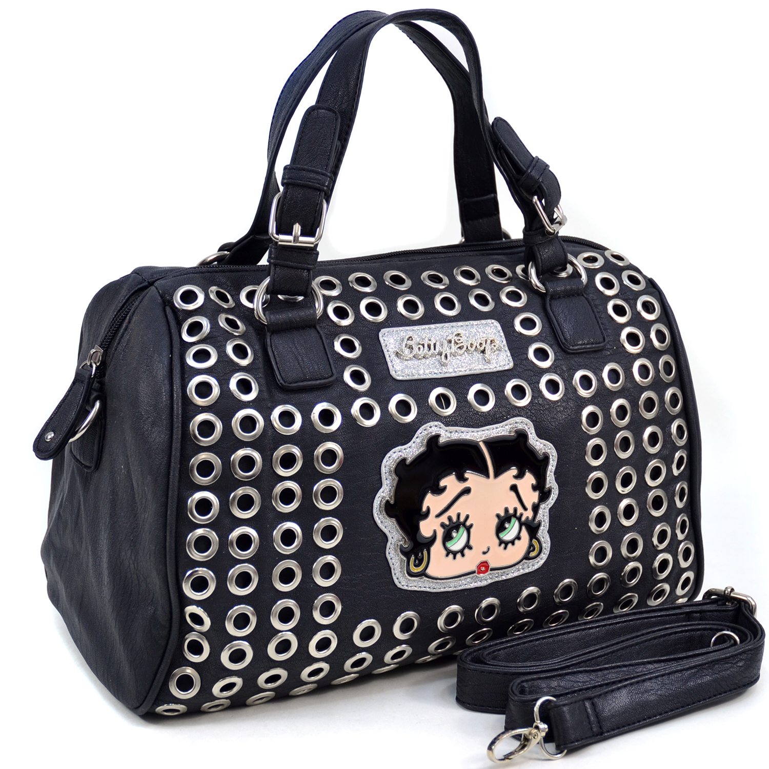 Betty Boop Cut-out Design Fashion Satchel