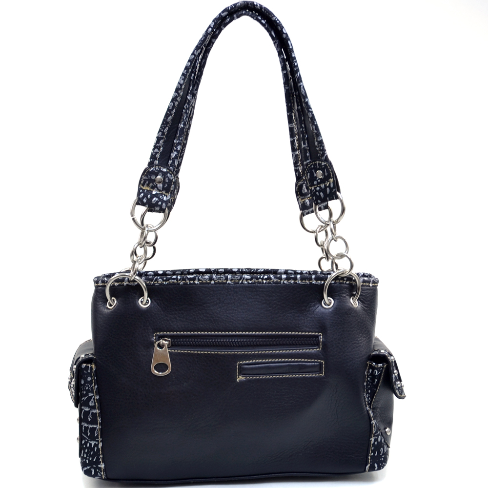 Lillian Smith Twin Shootin' Irons Shoulder Bag