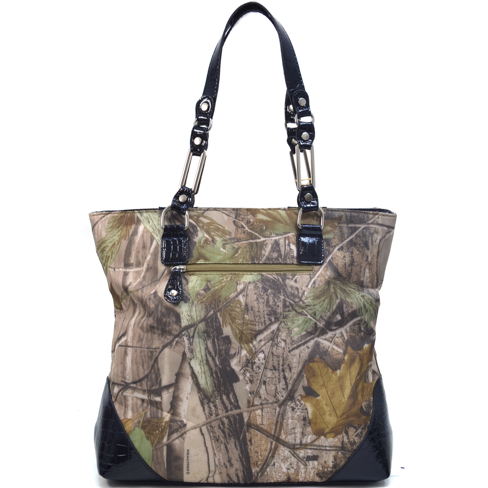 Realtree® APG Camo Croco Trim Tote