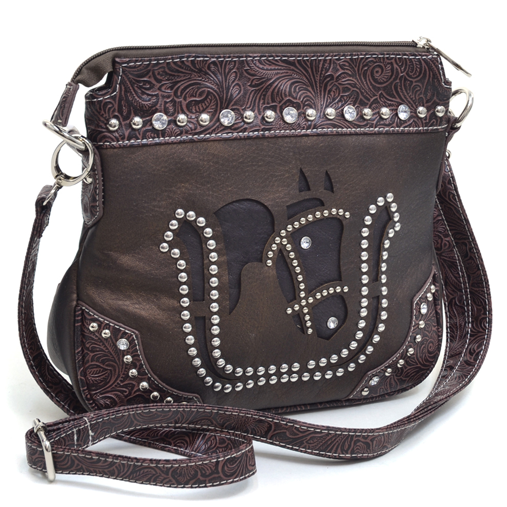 U Style® Cattle Kate's Mare Messenger Bag