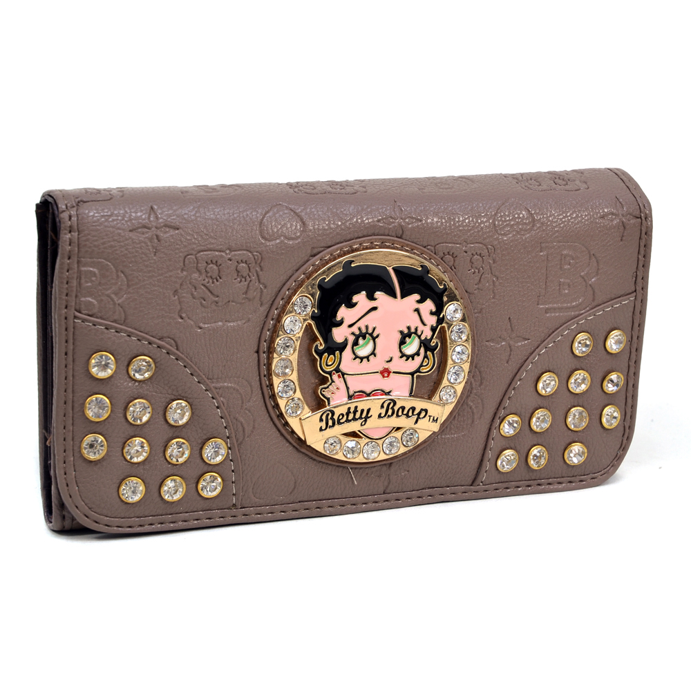 Betty Boop® Etched Design Wallet