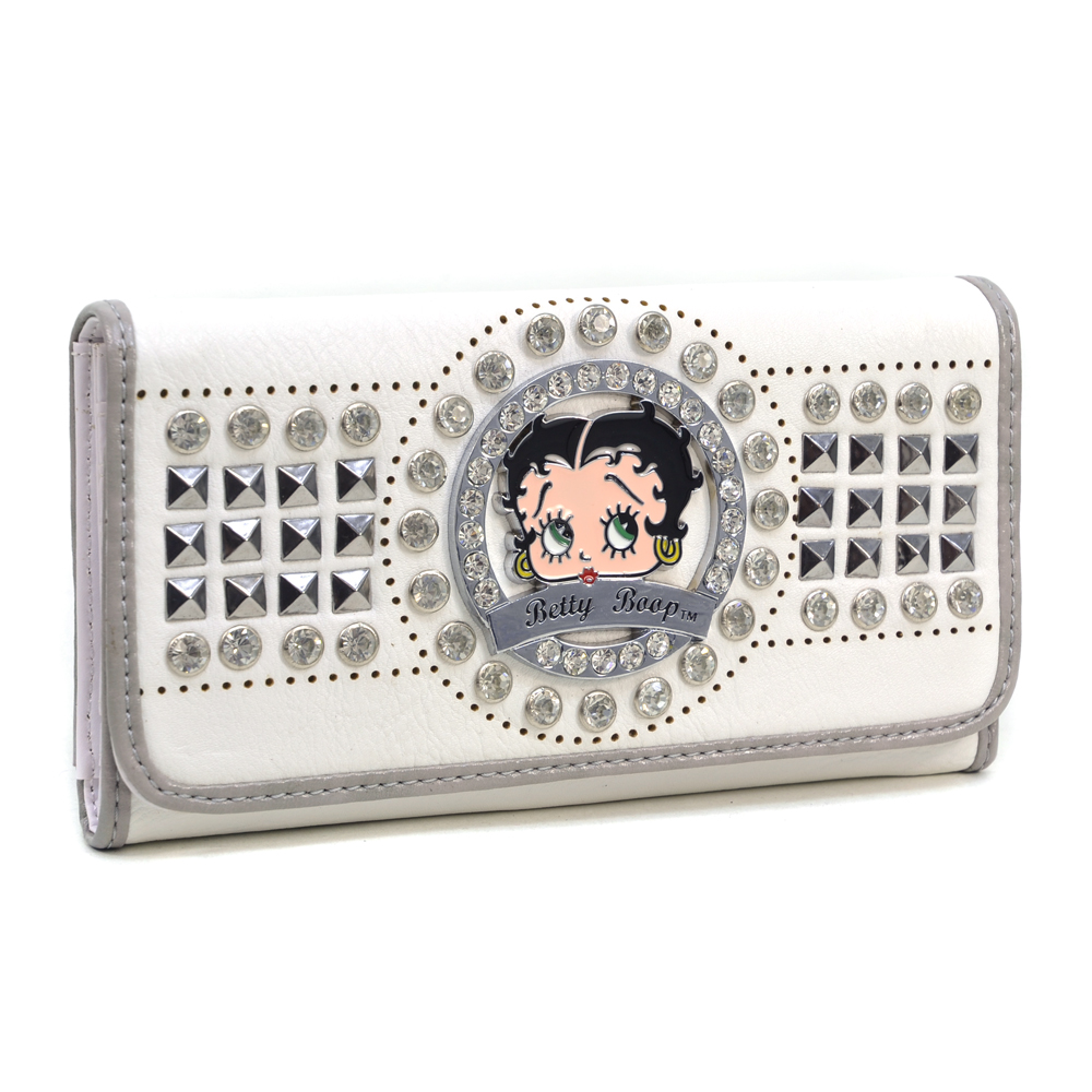 Betty Boop® Rocker Studded Wallet