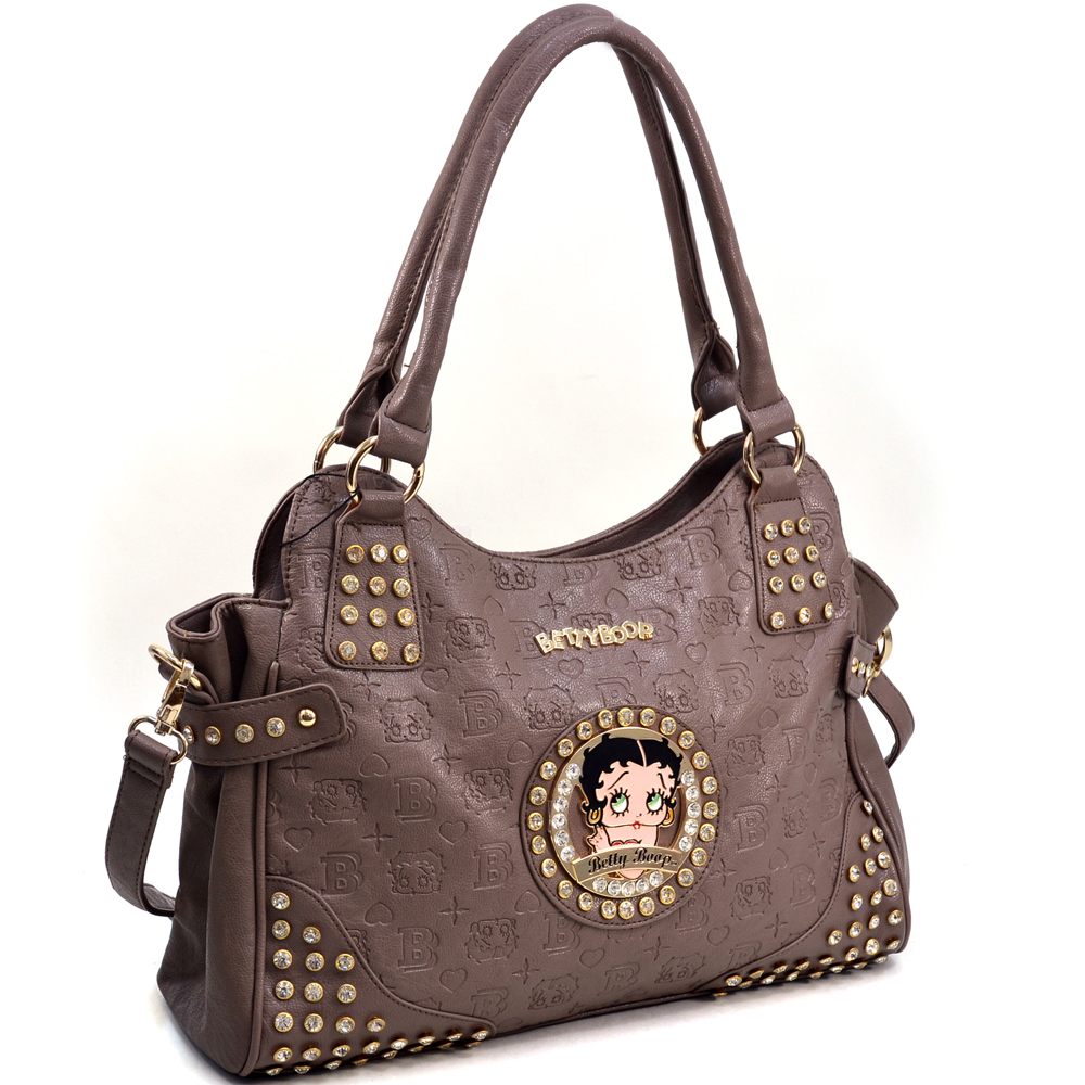 Betty Boop® Etched Design Hobo