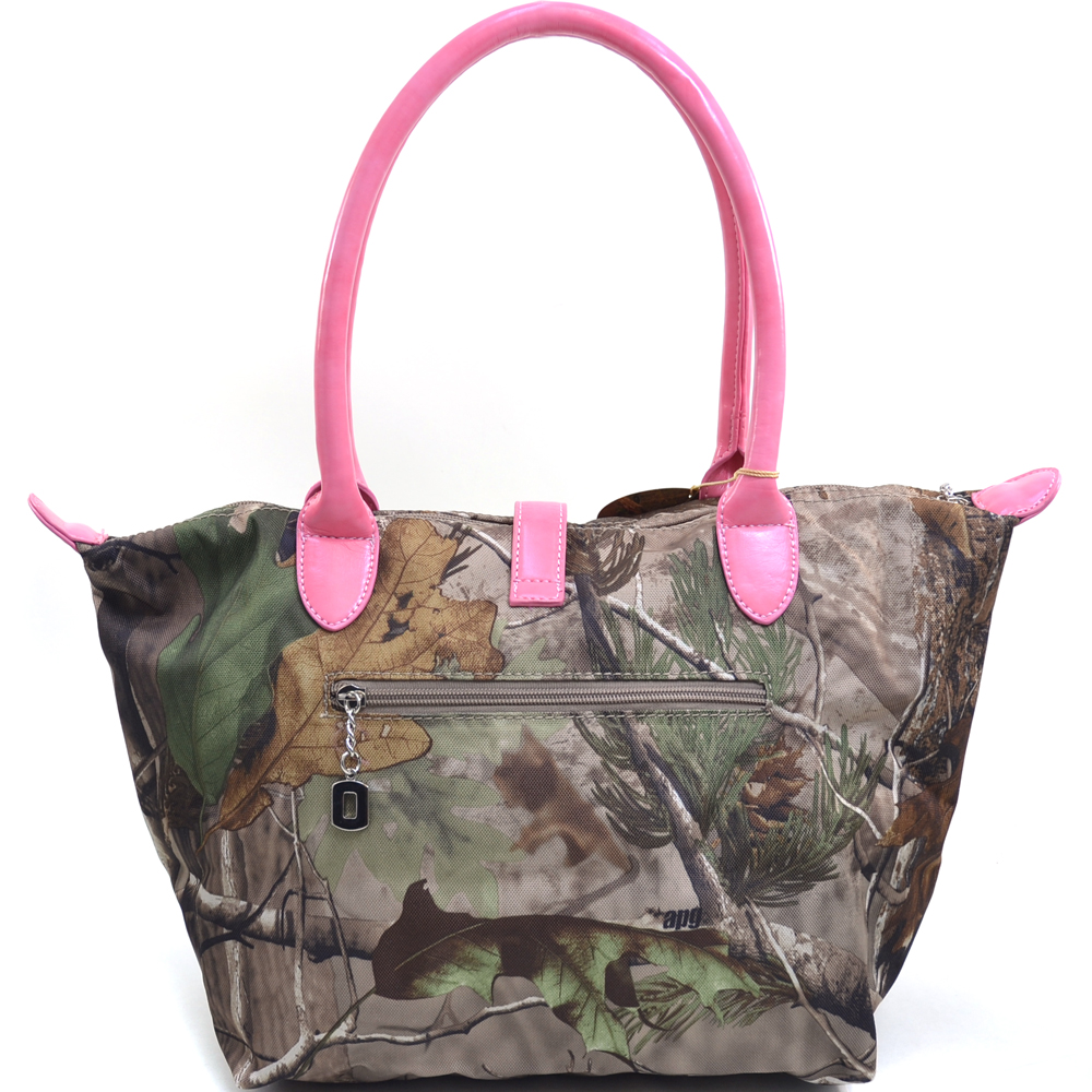 Realtree® APG Camo Pink Handle Tote