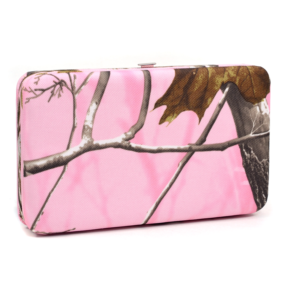Realtree® APP Pink Camo Frame Wallet